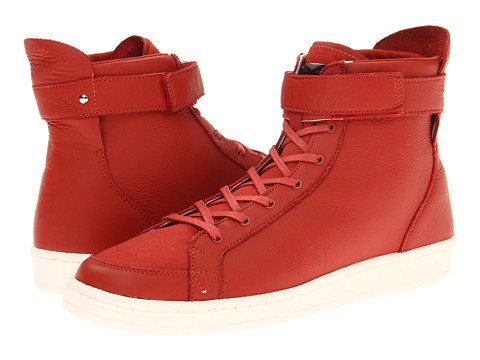 Adidasi SLVR - Cupsole Hi - Natural Red/Chalk/Natural Red
