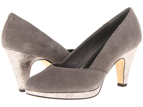 Pantofi Bella-Vita - Beta - Grey Suede/Metallic