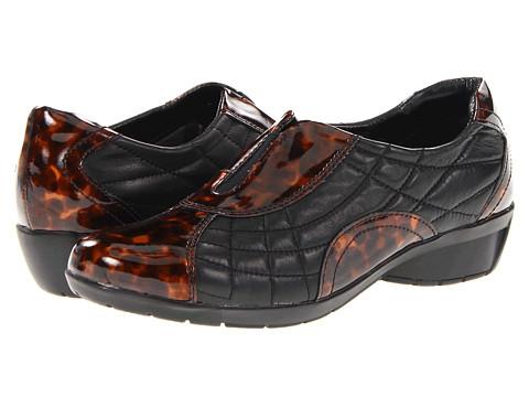Balerini Bella-Vita - Sigma - Black Leather/Tortoise Patent