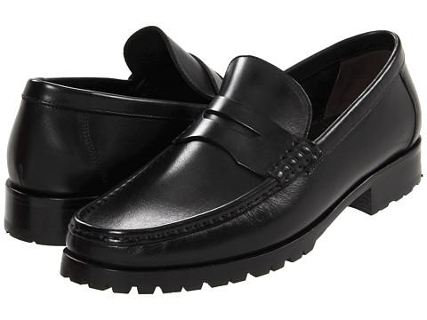 Pantofi A. Testoni - Penny Loafer - Nero Calf