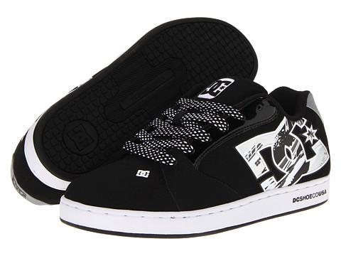 Adidasi DC - Raif W - Black/White/Metallic Silver