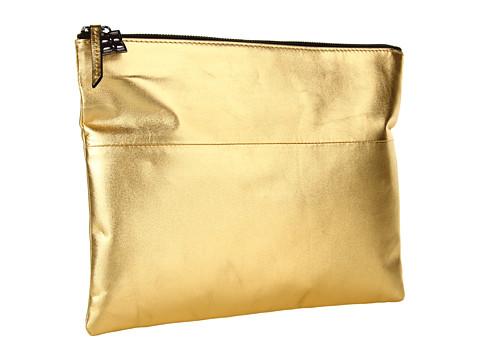 Genti de mana BCBGMAXAZRIA - Carina Evening Clutch Bag - Gold