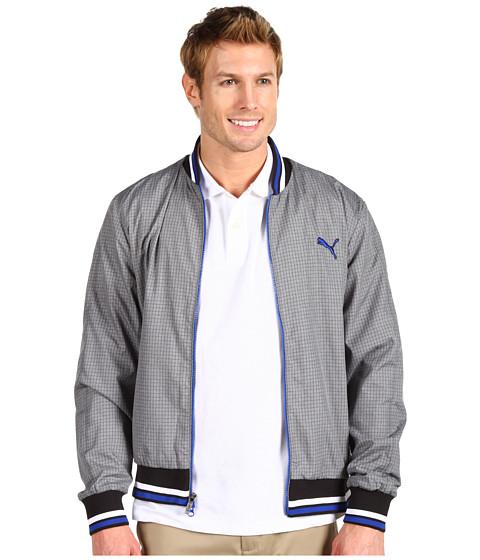 Jachete PUMA - Golf Tattersall Jacket - Medium Gray Heather