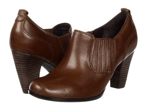 Pantofi Clarks - Attitude Pose - Brown Leather