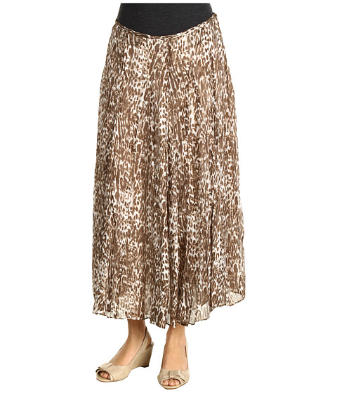 Fuste Jones New York - Long Gored Skirt - Beechwood