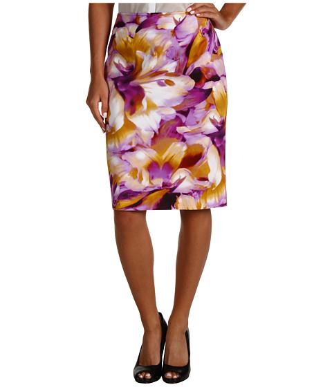 Fuste Jones New York - Missy Slim Skirt - Plume Multi