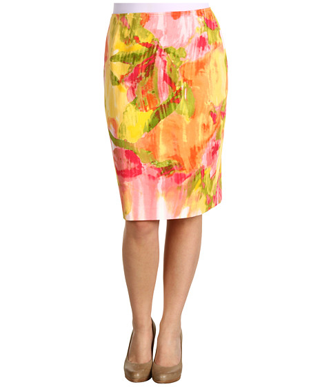 Fuste Jones New York - Petite Floral Slim Skirt - Primrose Multi