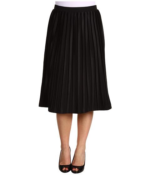 Fuste Jones New York - Petite Gramercy Park Pleated Skirt - Black