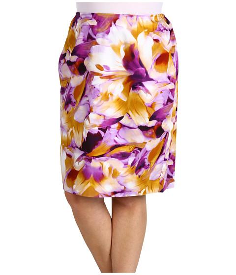 Fuste Jones New York - Plus Size Slim Skirt - Plume Multi