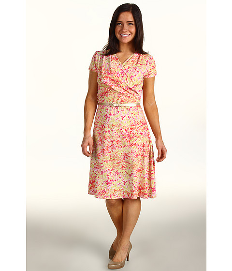 Rochii Jones New York - Petite Belted Wrap Dress - Multi