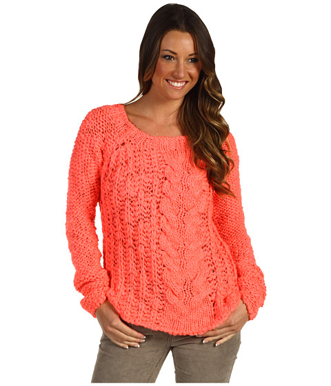Bluze Free People - Hot Tottie Pullover - Electric Pink