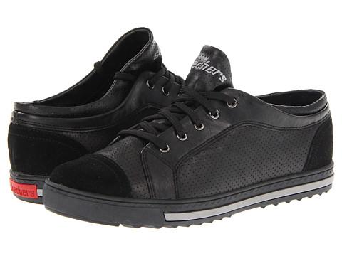 Adidasi SKECHERS - Kicks - Perf - Black