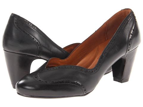 Pantofi Gentle Souls - Show Your Logo - Black Leather