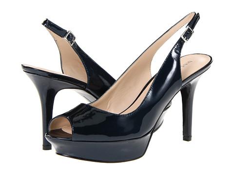 Pantofi Nine West - JustSmile - Navy Leather