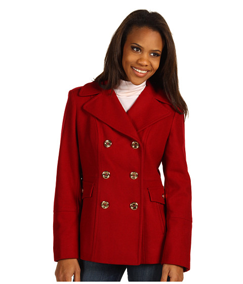 Jachete Michael Kors - Renee Wool Peacoat - Red
