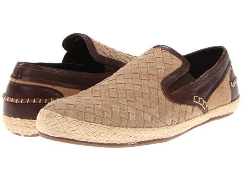 Pantofi Cole Haan - Seawall Slipon - Milkshake Suede Woven