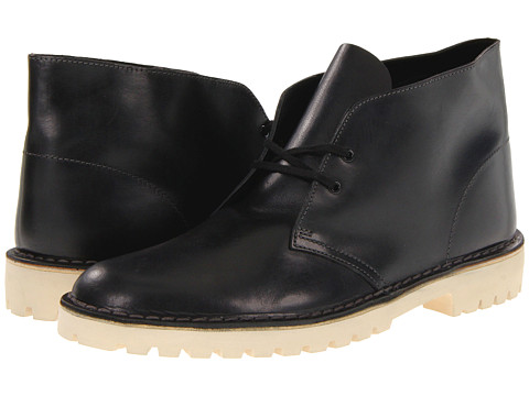Ghete Clarks - Desert Trooper - Black Leather