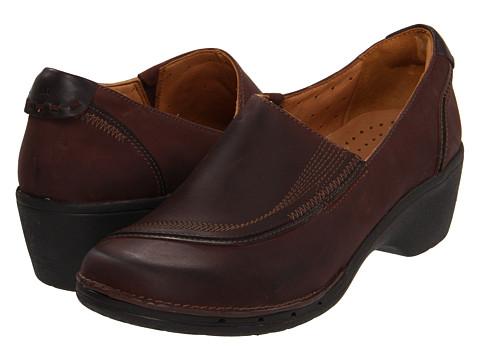 Pantofi Clarks - Un.robin - Dark Brown Nubuck