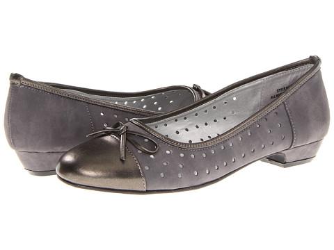 Balerini Annie - Barton - Grey Nubuck/Pewter