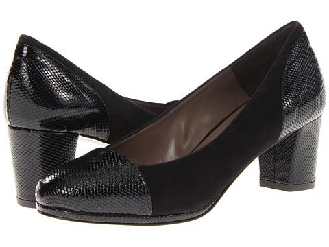Pantofi Sesto Meucci - Gennie - Black Suede/Black Print