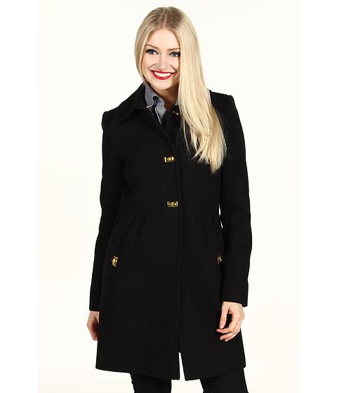 Jachete DKNY - Turn Key Baby Doll Coat - Black