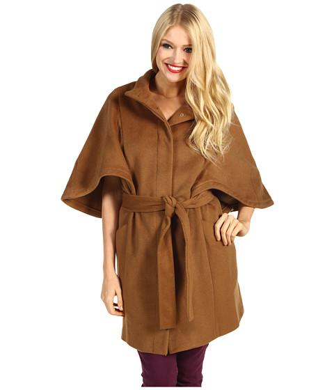 Jachete Hilary Radley Studio - Wool Blend Cape - Camel