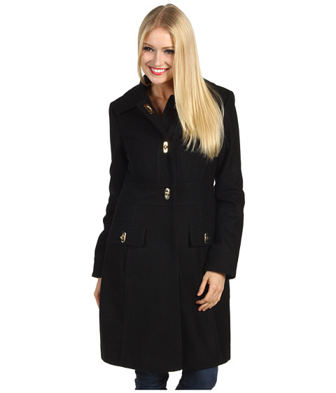 Jachete Jessica Simpson - Single Breasted Turn Key Coat - Black