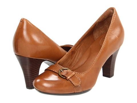 Pantofi Clarks - Society Dance - Brown Leather