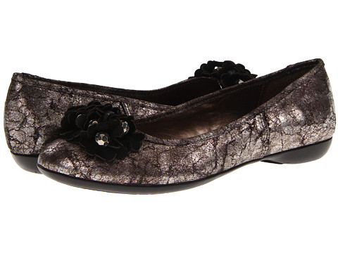 Balerini Bella-Vita - Mae - Black Metallic/Black Suede