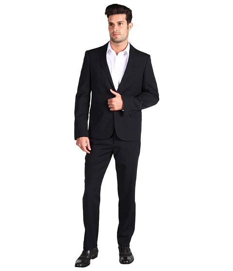 Sacouri Costume National - City Slim Suit - Pinstripe