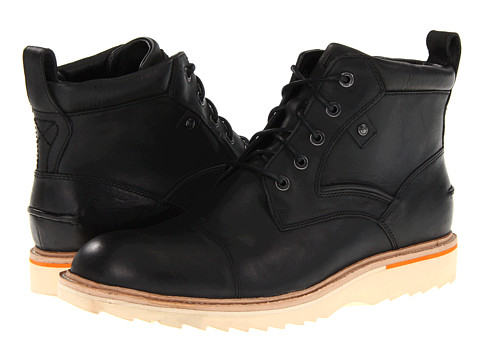 Ghete Rockport - Union Street Cap Boot - Black