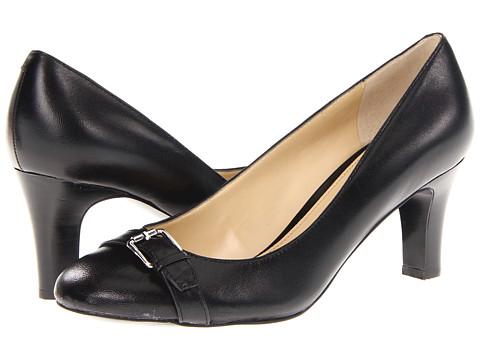 Pantofi LAUREN Ralph Lauren - Saffron - Black Kidskin