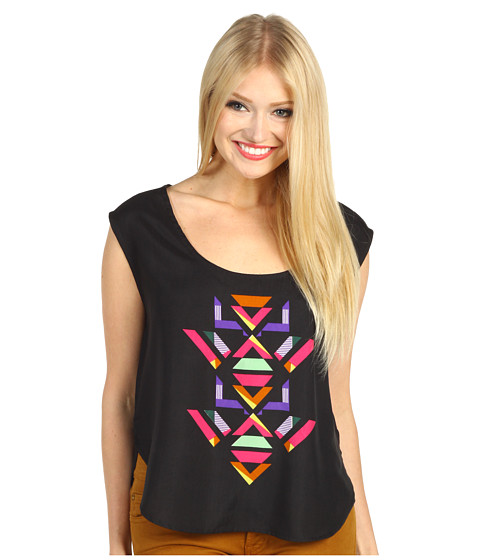 Tricouri Volcom - Stones in My Shoes Top - Black