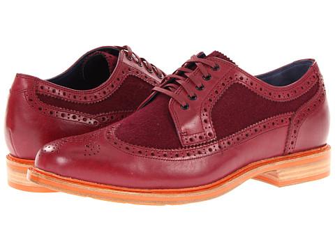 Pantofi Cole Haan - Cooper Square Wingtip - Cordovan/Cordovan Wool