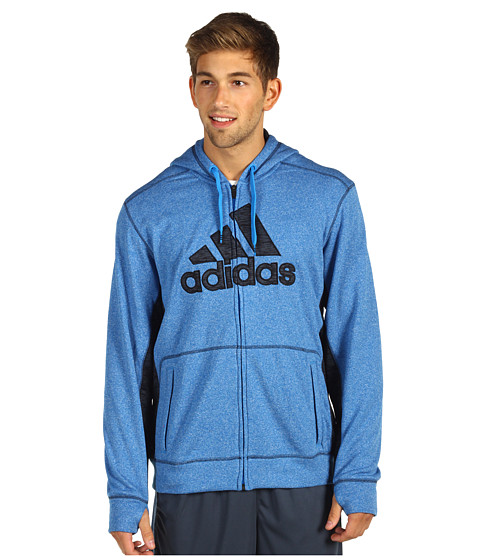 Bluze adidas - Ultimate Tech Full-Zip Hoodie - Bright Blue