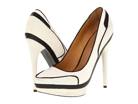 Pantofi L.A.M.B. - Ohio - White/Black