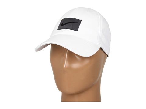 Sepci Nike - Heritage Dri-Fit Cotton Adjustable - White/Flint Grey/Black