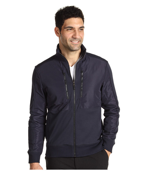 Jachete Calvin Klein - L/S Full Zip Ponti - Atlantic Blue
