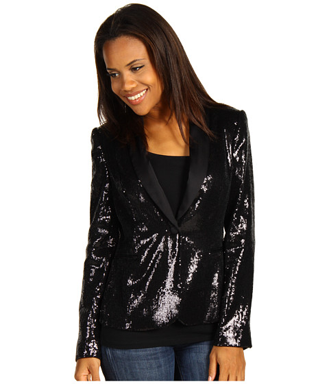Sacouri Calvin Klein - Sequin Jacket - Black