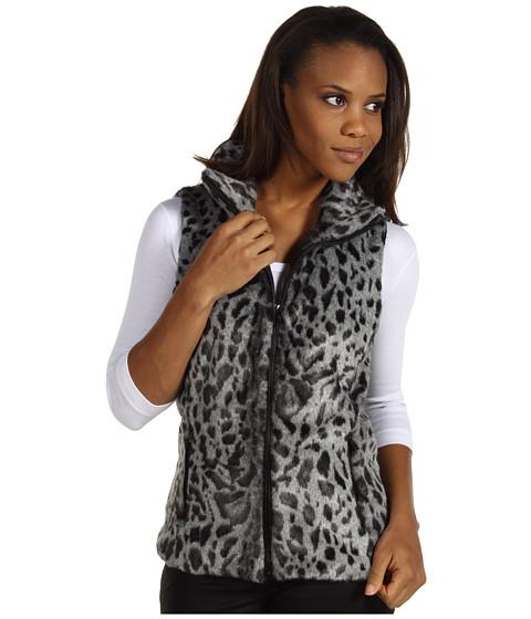 Jachete Calvin Klein - Faux Fur Vest - Grey