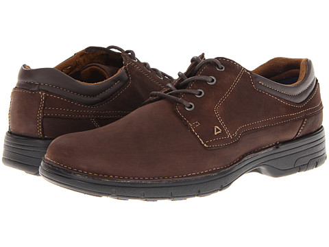 Pantofi Dockers - Howell - Dark Brown Snuffed Full Grain