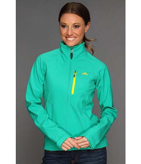 Bluze adidas - Hiking/Trekking Softshell Jacket - Blaze Green