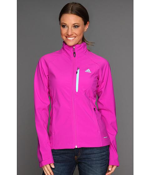 Bluze adidas - Hiking/Trekking Softshell Jacket - Vivid Pink