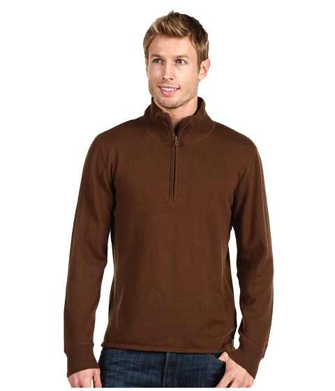 Pulovere The North Face - Mt. Tam 1/4 Zip Sweater - Burrow Brown