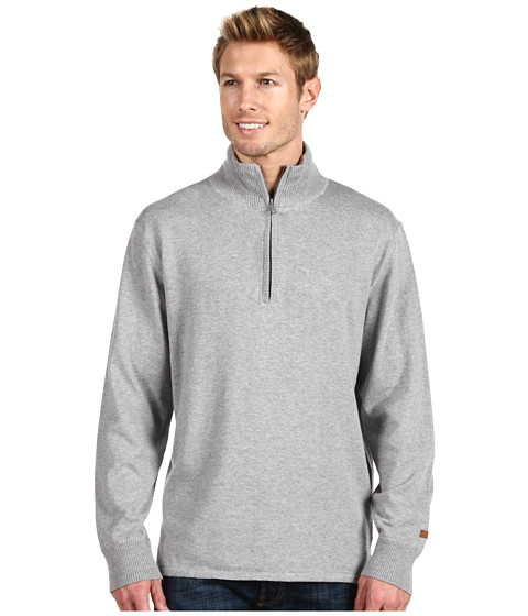 Pulovere The North Face - Mt. Tam 1/4 Zip Sweater - Heather Grey