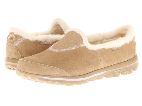 Adidasi SKECHERS - GOwalk - Toasty - Sand