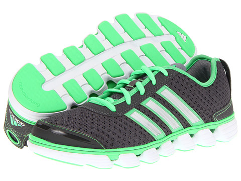 Adidasi adidas - Liquid 2 W - Sharp Grey/Green Zest