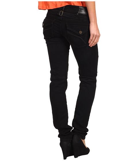 Blugi Fox - Moto Doll Skinny Jean in Black Vintage - Black Vintage