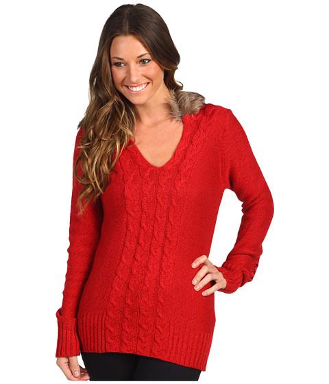 Bluze Fox - Glorious Sweater - Dark Red