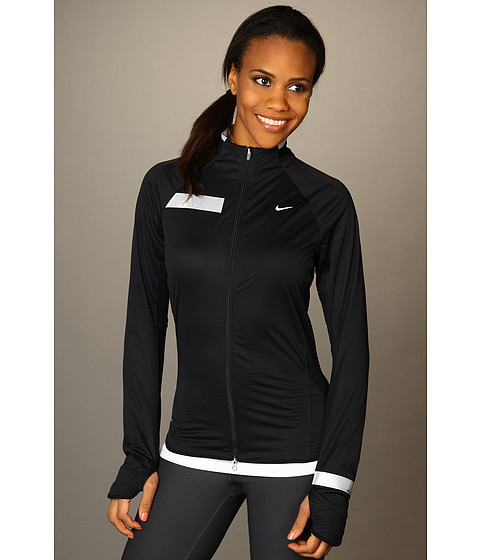Bluze Nike - Nike Element Shield Full Zip (S) - Black/Black/Reflective Silver